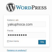 WordPress Giriş Ekranını İyileştirme